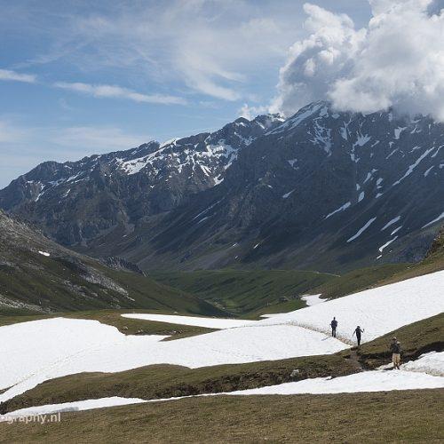 Richting Refugio de Aliva, Picos de Europa, Spanje, 24-5-2018