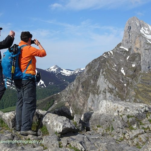 Foto Jan Bonnen. Onderweg, Picos de Europa, Spanje, 24-5-2018