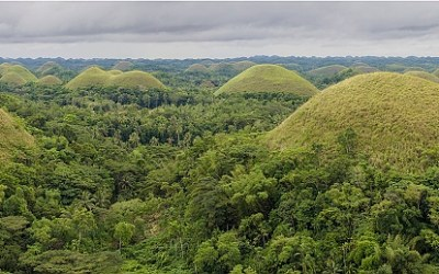 Chocolate Hills, Bohol, Filipijnen, 7-11-2018