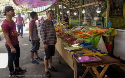 Barbeque restaurant, Ormoc, Leyte, Filipijnen, 10-11-2017
