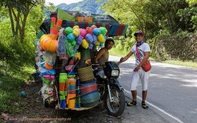 Onderweg tussen Tarlac en Banaue, Luzon, Filipijnen, 14-11-2017