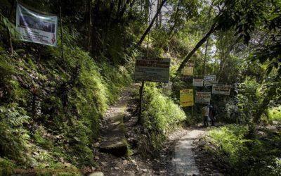 Korte hike naar Batad, Luzon, Filipijnen, 15-11-2017