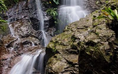 Waterval bij Balinsasayao Twin Lakes, Negros, 24-11-2017