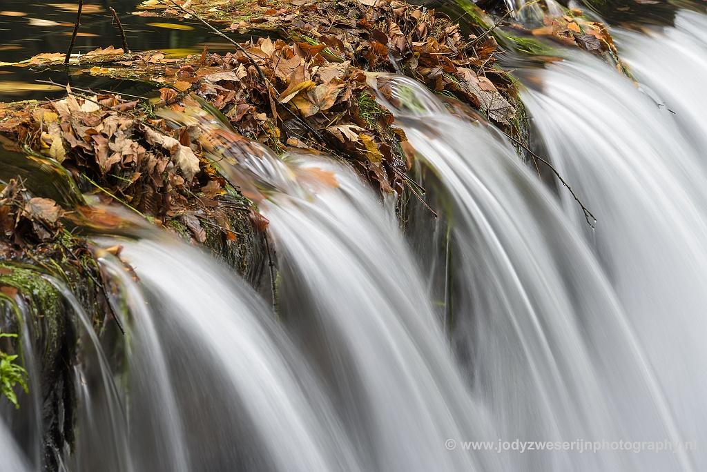 Stromend water, Edmundsklamm, Hrensko, Tsjechië, 23-11-2018