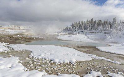 Norris Geyser Basin, Yellowstone, USA, 24-1-2019