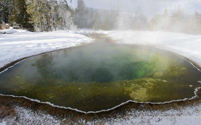 Morning Glory Pool, Yellowstone, USA, 28-5-2019