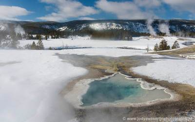 Near Old Faithful, Yellowstone, USA, 28-1-2019