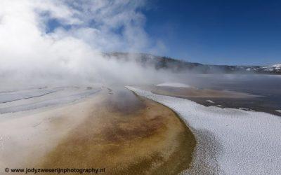 Grand Prismatic Spring, Yellowstone, USA, 29-1-2019