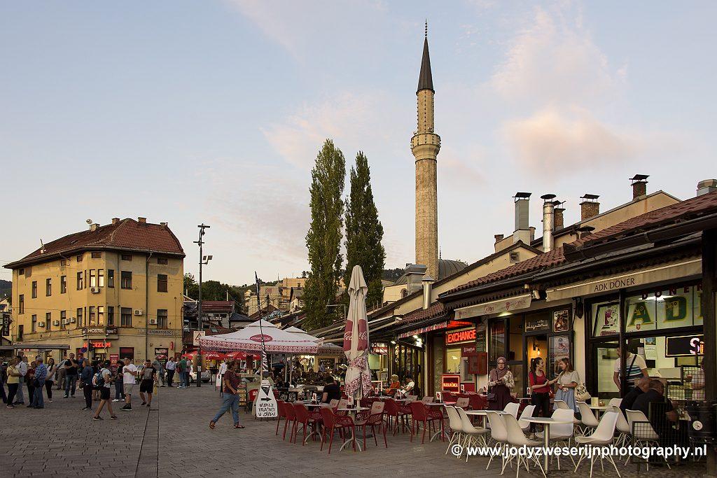 Oude binnenstad Sarajevo, Bosnië en Herzegovina, 17-9-2019