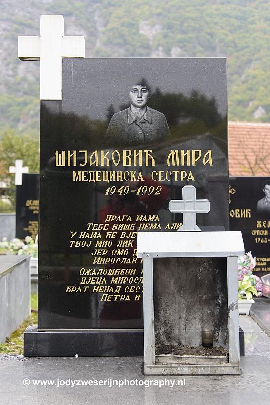 begraafplaats, Visegrad, Bosnië Herzegovina, 19-9-2019