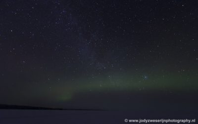 Loma Paksu, vlak bij het pension, Finland, 24-1-2020