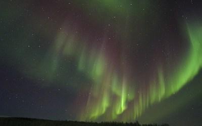 Ergens langs de weg in het Noorden van Noorwegen, 29-1-2020