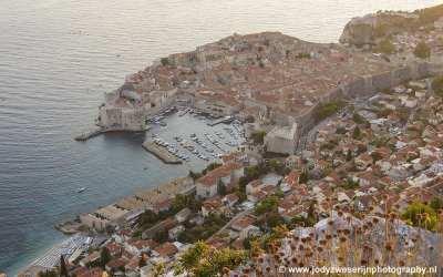 Dubrovnik vanaf berg Sra, Kroatië, 2019