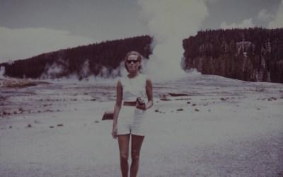 Bij Old Faithfull, Yellowstone