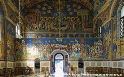 Holy Transfiguration Orthodox Cathedral, Trebinje, Bosnië, september 2019