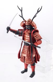 G.I. JOE 3.75 Movie Figure Budo Samurai Warrior A4032 b