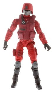 G.I. JOE 3.75 Movie Figure Crimson Guard A0968