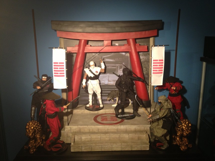 Sideshow Arashikage Temple Sixth Scale Figure Environment