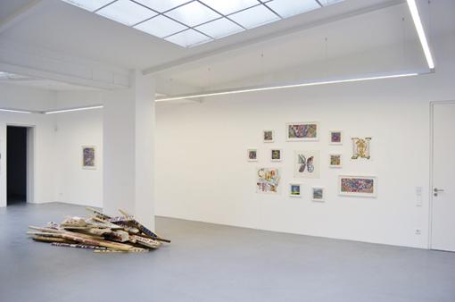 N&B Ausstellungsansicht I