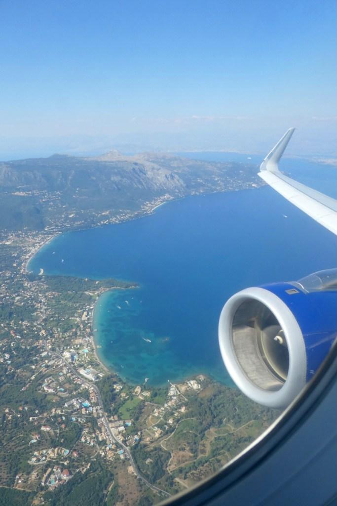 Trip -- Aerial View of Corfu