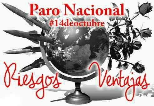 Riesgos y ventajas de un PARO NACIONAL #14deoctubre