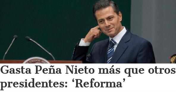 Sale caro mantener a Peña Nieto, rumbo al IV Informe
