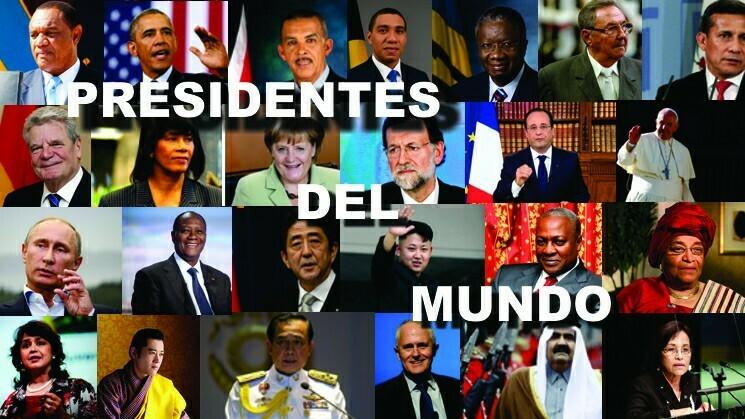 Presidentes del mundo (vídeo), listado de quienes gobiernan al mundo.