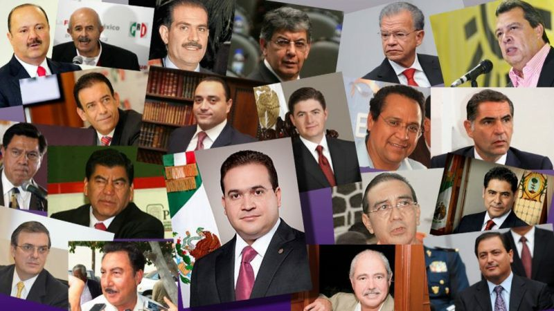 Gober-ladrones mexicanos