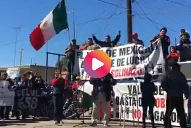29 de enero: marchas en el país contra los #gasolinazos, vídeos