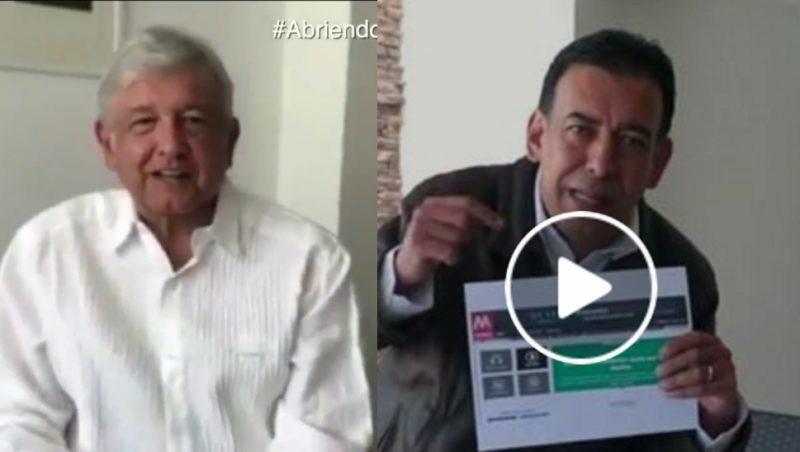 Andrés Manuel habla del donativo de 500 mil pesos y Moreira de Calderón