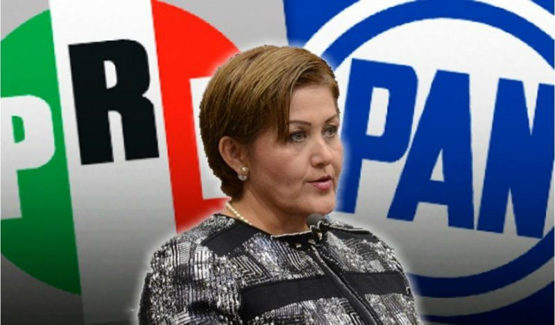 PRI y PAN, partidos originales de Eva Cadena Sandoval