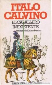vídeos sugerencia de lectura obras de la literatura universal, italo calvino, el caballero inexistente