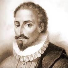 Miguel de Cervantes Saavedra, autor de El ingenioso hidalgo don Quijote de la Mancha