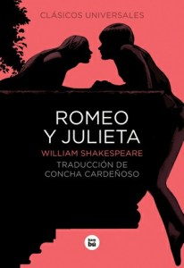 Portada de Romeo y Julieta, una obra literaria de William Shakespeare