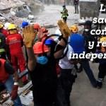 La tierra sacudió la conciencia y renovó la independencia (poema en vídeo)