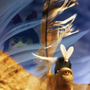 lego indian maiden and feather