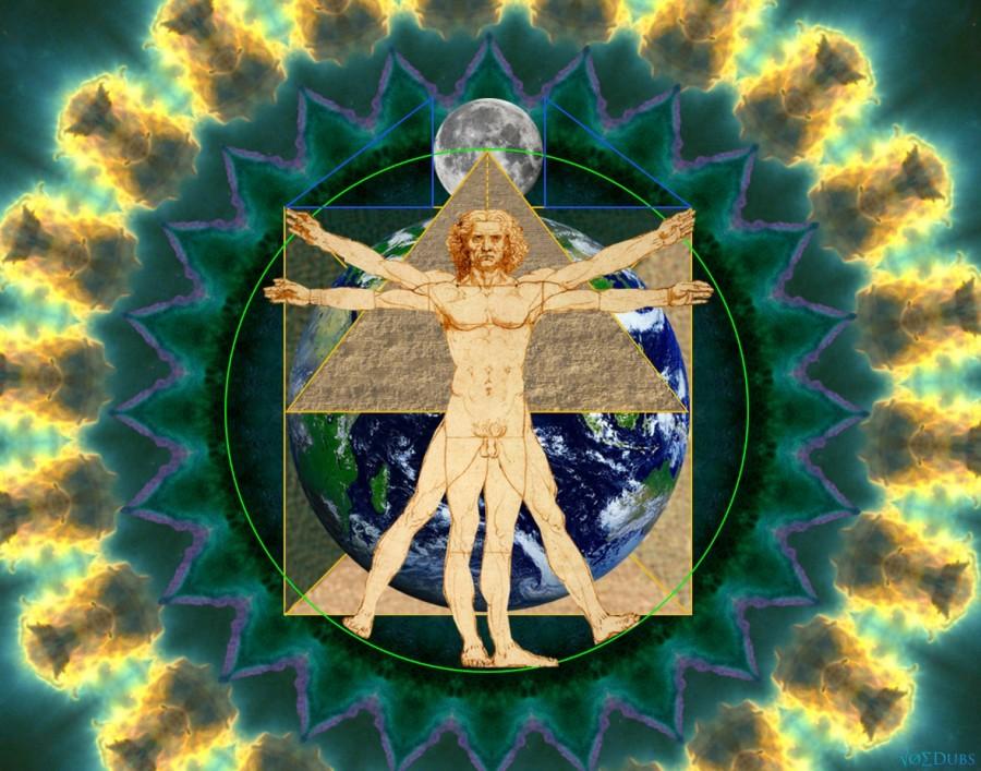 Square the circle | Vitruvian Man | Great Pyramid