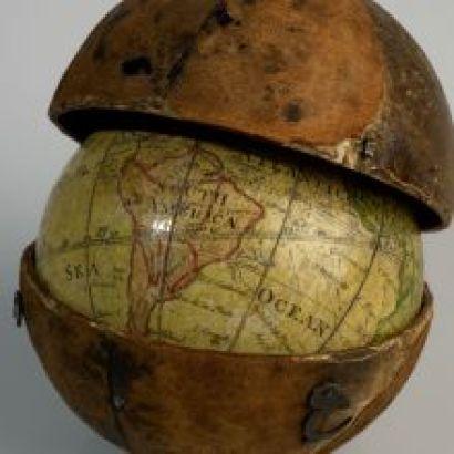 earth concave globe