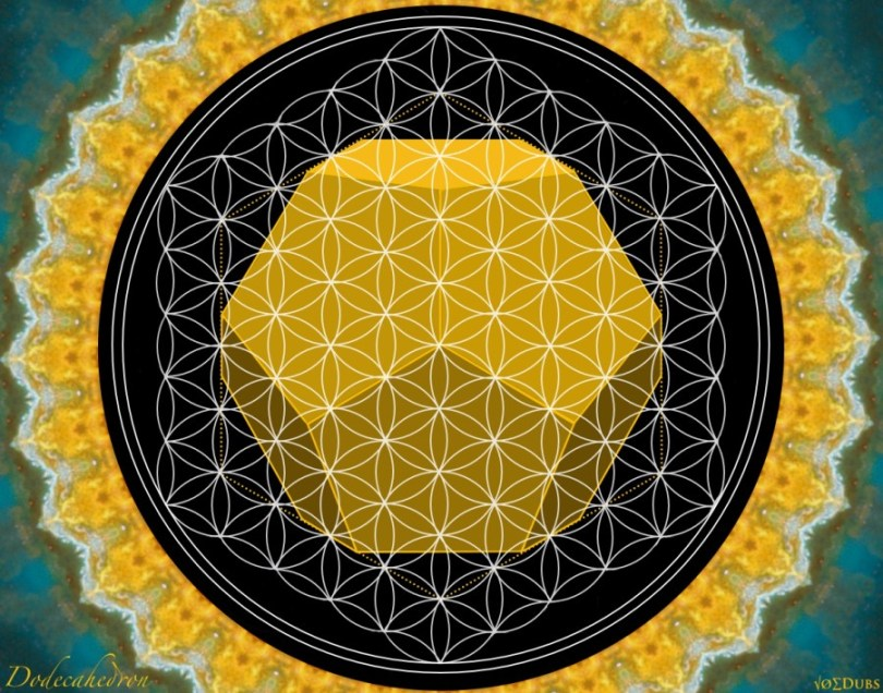 Dodecahedron Flower of Life