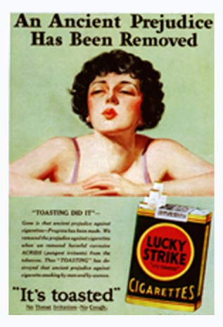 smoking women
