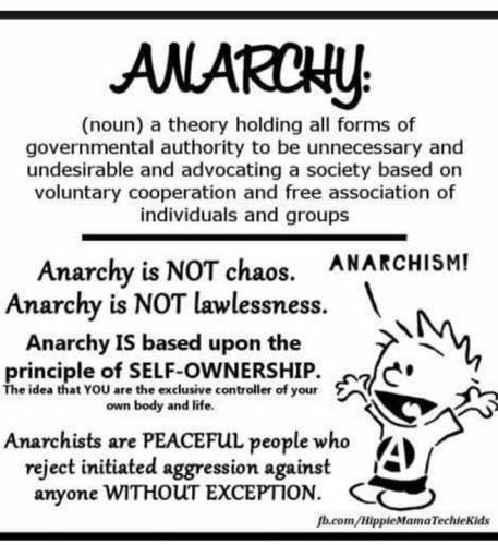 anarchy not chaos