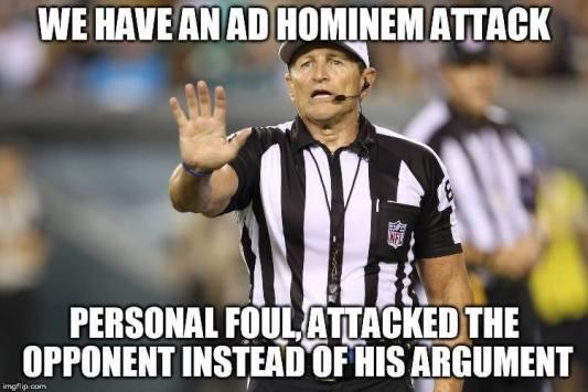 ad hominem attack