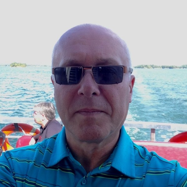 Selfie on the St. Lawrence River