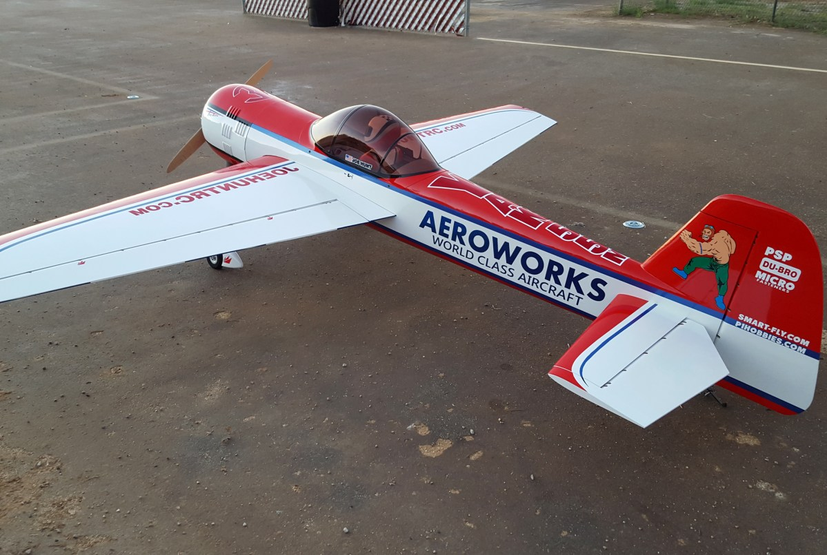 "Review: Aeroworks 122"" YAK 55M"