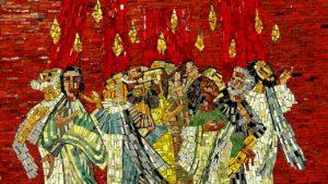 A Pentecost mosaic