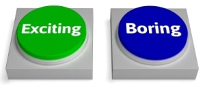 boring-exciting buttons