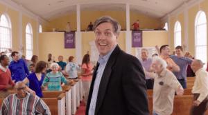 7 - Chuck in Church