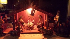 My family's nativity that I talk about in the piece.