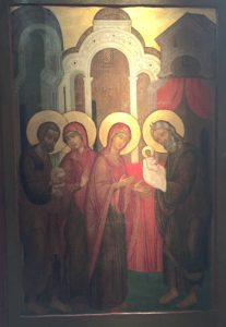 Icon of the Dedication at the Temple at Discipleship Ministries. Photo by Joe Iovino.