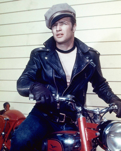 "Brando from ""the Wild One"""